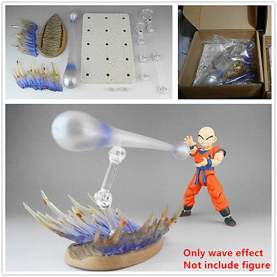 Dragon ball Z SHF Kamehameha Shock Wave Effect for Bandai Son Goku Vegeta models