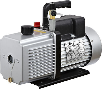 "HFS 12 Cfm Vacuum Pump Dual Stage 110V - Inlet 1/4"" And 3/8"" Sae - 1 Hp"
