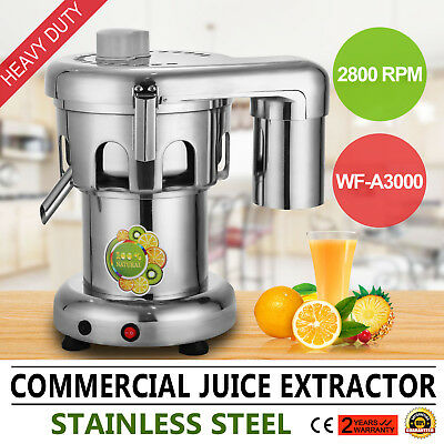 Commercial Juice Vege  Extractor Stainless Steel Juicer Heavy Duty WF-A3000