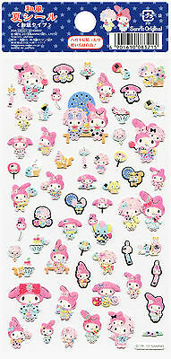 "Sanrio My Melody ""Summer"" Washi Paper Stickers (2015)"