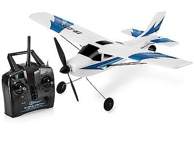 Top Race 3 Channel Remote Control Airplane, Built in 6 Axis Gyro System Super to