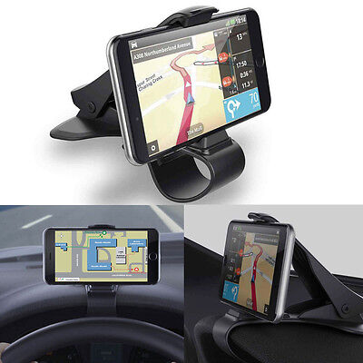 Universal Car Dashboard Cell Phone GPS Mount Holder Stand HUD Design Cradle