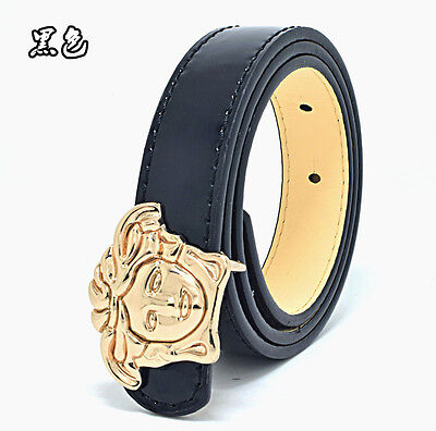 Fashion Children Kids Synthetic Leather Belts Pants Waist Boys Student Belt