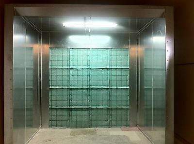 Open Face Paint Spray Booth BRAND NEW Made in the USA