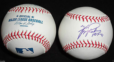 ab04d180487 Fergie Jenkins Signed Omlb Baseball Hof 91 Chicago Cubs Texas Rangers Red  Sox J2