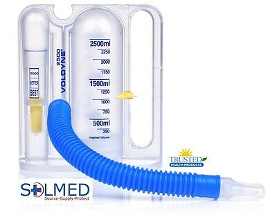 Incentive Spirometer Voldyne® Breathing Lung Exerciser 2500Ml