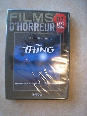 44466// The Thing John Carpenter Dvd Neuf Sous Blister