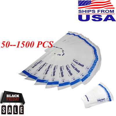 50-1500PC Dental Intraoral Camera Sheath Sleeve Cover Disposable USA Stock