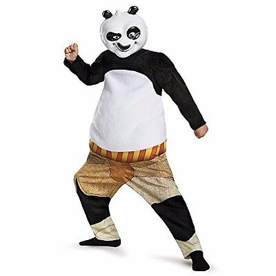 Halloween Kung Fu Panda-Po Deluxe Muscle Costume by Disguise 86289  LG (10-12)