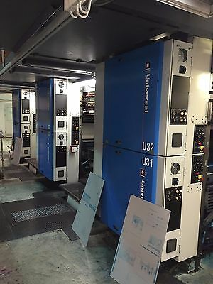 Goss universal cut off 560 3 towers, 1 folder EAE automation istalled