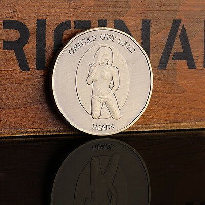 Sex binding Chicks get laid Commemorative Coins Collectible Gift Hot Sale