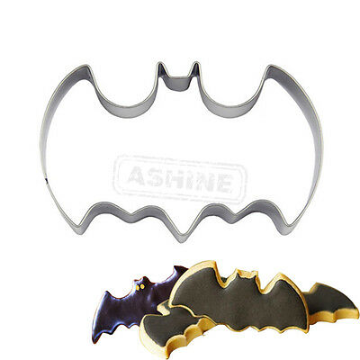Batman Cookie Biscuit Pastry Fondant Mold Cutter Cake Decorating Stainless Steel