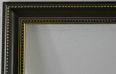 Wood Frame Brown Inside Dimension approx. 32x68 cm