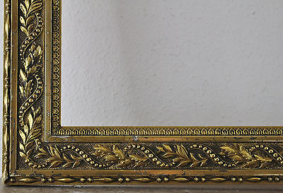 Wood Frame Decorated Gold Inside Dimension approx. 62x77 cm