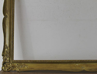 Wood Frame Gold Inside Dimension approx. 49,5x76,5 cm