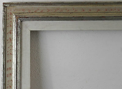 Wood Frame Silver White Inside Dimension approx. 70x50 cm