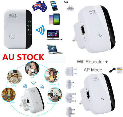 300Mbps Wireless N 802.11 Wifi Repeater AP Range Router Network Extender Booster