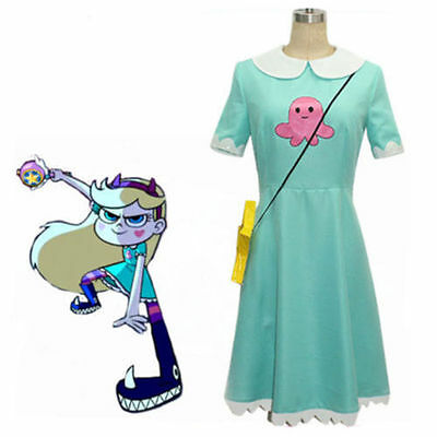 Star vs.the Forces of Evil Magic Princess Star Butterfly Dress  :QVY7
