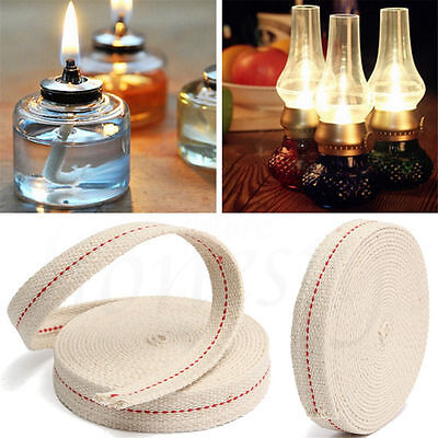 50cm Foot White Flat Cotton Alcohol Wick For Glass Oil Lamps and Lanterns