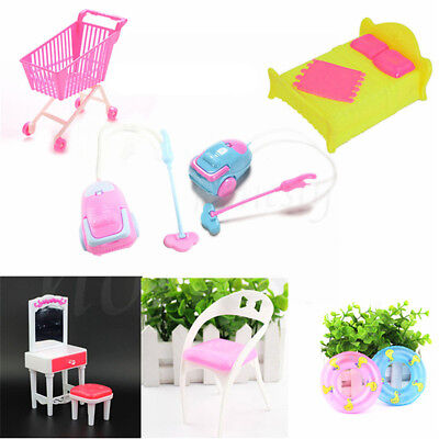 Dollhouse Miniature Furniture Accessories For Living Room Toys Kids Gift