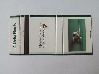 Delta Hotels Canada Toronto Halifax Ottawa Sports Tennis Player  Matchbook