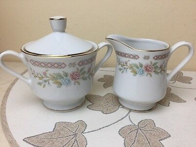 BHS Carrington Milk Jug & Lidded Sugar Pot Superb Condition