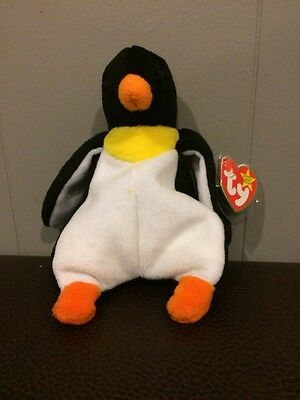 Waddle Penguin Ty Original Beanie Baby Plush with tags
