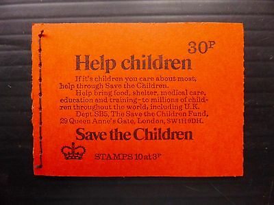 GB 1974 Spring 30p Machin Booklet DQ73 NB2249