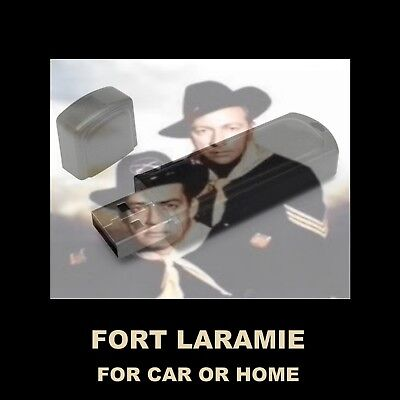 Enjoy 'Fort Laramie' In Your Car Or Home!  Old Time Radio Starring Raymond Burr!