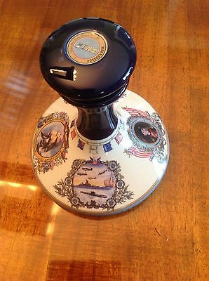 Pusser's The John Paul Jones US  Navy and Marine Ships Decanter, Made In England