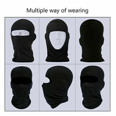 Outdoor Ski Motorcycle Cycling Polyester Headscarf Balaclava Full Face Mask Neck