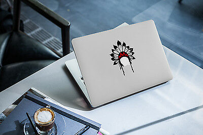 Headdress Decal for Macbook Pro sticker vinyl air mac 13 15 11 laptop skin funny