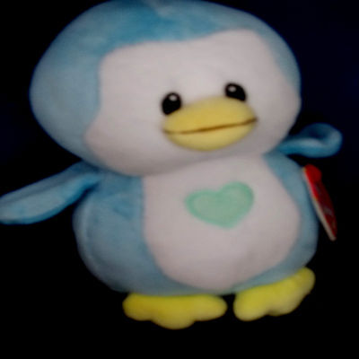 """TWINKLES BLUE PENGUIN ***BABY TY*** Style 32158 approx 7"""""""