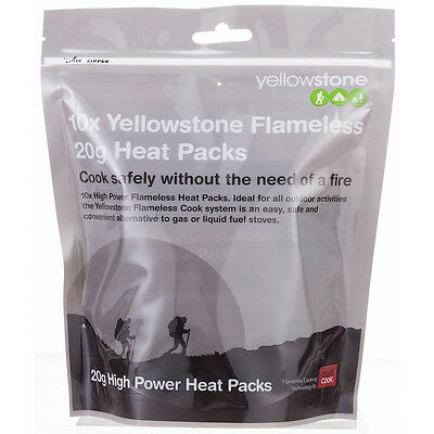 Yellowstone Flameless 20G Heating Pack (Pack Of 10)