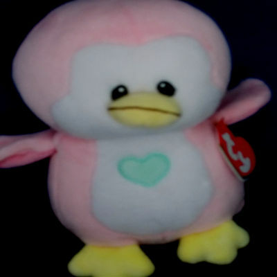 """PENNY PINK PENGUIN ***BABY TY*** Style 32156 approx 7"""""""