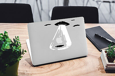 UFO Decal for Macbook Pro sticker vinyl air mac 13 15 11 laptop skin alien funny