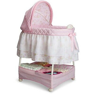 Disney Princess Gliding Bassinet Pink