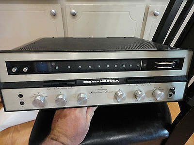 Vintage MARANTZ Eighteen 18 Stereophonic Receiver Tested and WORKING NR!!