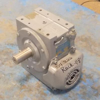 Cleveland 10-1 Ratio 25 Series Worm Gear Speed Reducer Size 35E