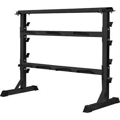 Gorilla Sports Plate Rack Dumbbell Rack
