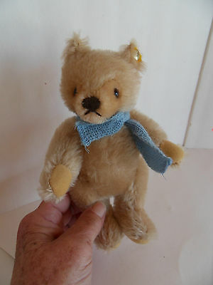 Steiff bear mohair fully jointed  button  made in Germany 1486