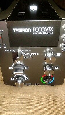 Tamron fotovix film video processor