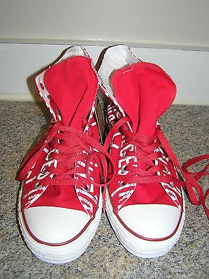 Converse All Star Chuck Taylor Ct Red Hi  Sneakers- Men's- 7-  Womans- 9 - NIB