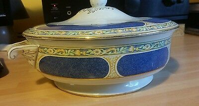 Booths Silicon China Soup Tureen with Lid Tableware Kitchen Antique Art Nouveau