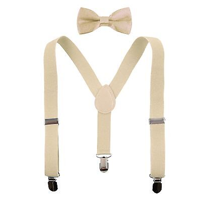 Boys' Suspenders and Solid Color Bowtie Set Many Colors Unisex Baby Toddler Kids