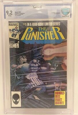 CBCS Graded 9.2 The Punisher #1 (Jan 1986, Marvel) Limited Series