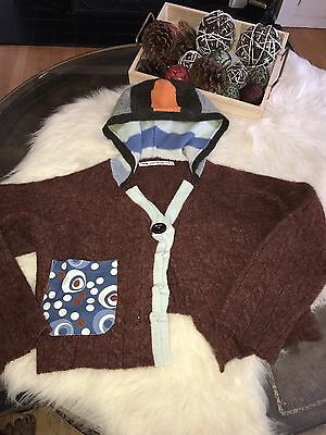 Farm Fresh Designs Unique Youth Sweater Size Small (hand Made)
