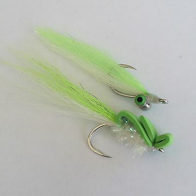BWC flies Clouser Minnow and Gurgler for Saltwater flyfishing