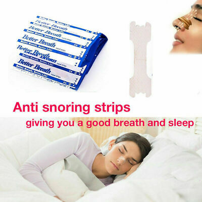One Set TAN BETTER BREATH NASAL STRIPS SM/MED OR LARGE RIGHT WAY TO STOP SNORE