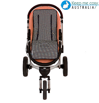 Keep Me Cosy Universal Pram Liner - Ink Spot (Navy/Black)
